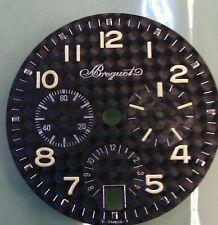 Breguet Transatlantique 3820 ti/k2 chronograph carbon dial (new)