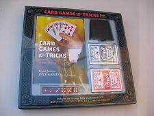 Card Games & Tricks Book & Kit 2012 Cards, Dice, Instructions - BRAND NEW