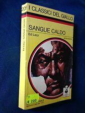 Ed LACY  - SANGUE CALDO , il Giallo Mondadori n. 209 (1975)