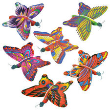 10 x Butterfly Butterflies Foam Gliders Party Bag Fillers Toys 315-224
