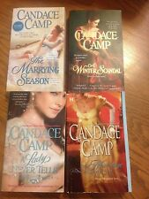 Candace Camp Lot of 4 The Marrying Season, The Marriage Wager, A Winter Scandal