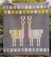 Lloyd & Lola - fun modern pieced Llamas quilt PATTERN - Elizabeth Hartman