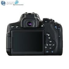 NUOVO CANON EOS 750D DIGITALE SLR FOTOCAMERA + 18-55MM IS STM 24.2MP FULL HD