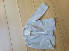 Egg by susan Lazar Seersucker Jacket Size 2T. Blue/white