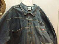 Big and Tall Rocawear Denim 4x Jacket