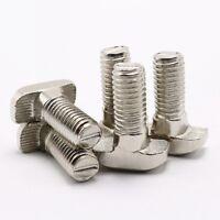 Select T-type Screws M5-M8 for 2020,30,40,45 T-SLOT Aluminum Extrusion Profile