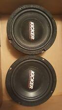 Kicker speakers 6.5