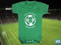 CELTIC Football BABYGROW/Vest/Bodysuit/Romper-Boys/Girls-Cute Personalised gift