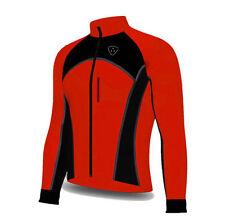 Chaquetas de ciclismo para hombres rojo