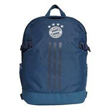 adidas Official Unisex FC Bayern Munich Football Fans Backpack Rucksack Navy