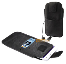 Etui Housse Universel POCKET SLEEVE BAG Noir / DANEW Konnect 601, 605