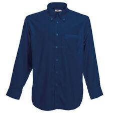 Camisas y polos de hombre azules Fruit of the Loom talla S