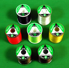 UTC Trout  Fly Tying THREAD 210  Denier (3/0) Lot  7 spools  Color  Selection
