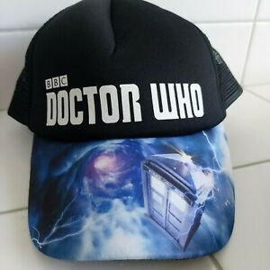 Doctor Who BBC Cosmic Tardis Bill Embroidered Cap Hat