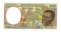 Central African States Gabon 2000 1000 Francs Choice UNC Banknote Pick 402Lg