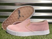 PUMA Tustin I Slip-On Golf Shoes Peachskin Pink Gold Womens SZ ( 193827 04 )