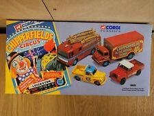 Corgi Classics Chipperfields Circus 4 Vehicle Set No 31703