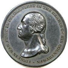 (1860s) Bakelite-like Composition George Washington Medal