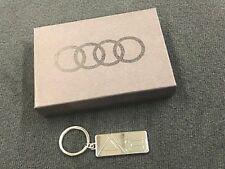 Genuine Audi TT Model Line Chrome Key Chain ACMAHK350TT OEM