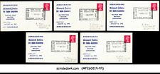 Great Britain 1970 Girl Guides Association Covers With Diff. Date Cancellation
