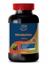 blood pressure herbs - RESVERATROL COMPLEX 1200 1B - resveratrol and quercetin