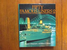 FRANK O. BRAYNARD(Died-2007)signed Book(FIFTY FAMOUS LINERS 2-1985 1st Edit Hard