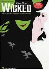 Very Good, STEPHEN SCHWARTZ WICKED (PIANO/VOCAL SELECTIONS) PVG: A New Musical f