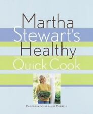 ~ Martha Stewart's 1st Edition on Healthy Quick Cooking Hardcover Book 1996 ~
