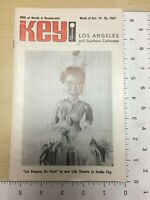 Vintage Tourism Advertising Key Magazine Los Angeles CA Oct 19 - 26 1967