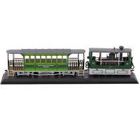 Atlas G 33(SLM)1894 Trolleybus Streetcar 1/87 Tramcar Green Diecast Vehicle Tram