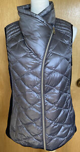 Calvin Klein performance premium down womens full zip vest size L