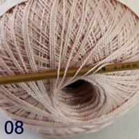 Thread No.8 Cotton Crochet Thread Yarn Craft Tatting Knit Shawl Lace 50g/400y 08