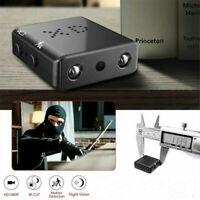 Full HD 1080P Mini Hidden Spy Camera Night Vision Motion Security DVR Cam