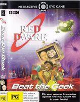 Beat The Geek Red Dwarf DVD Interactive Game - BBC QUIZ SHOW