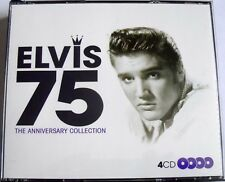 ELVIS - 75 The Anniversary Collection (2010 4 CD's 74 TRACK BOXSET) VGC