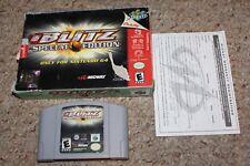 Nfl Blitz Special Edition (Nintendo 64 n64) with Box & Reg Card FAIR
