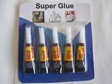 2=1+1 New Big Sale: 5 Super Glues-V. Strong For Most + 125 Nails Assorted Size!