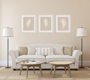 Set of Prints, Feather Print Set, Feather Wall Art, Feather Art, Minimalist Art