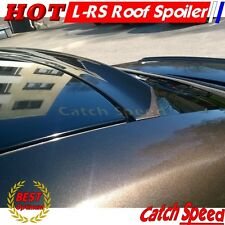 Flat Black 280 LRS Type Rear Roof Spoiler Wing For 2003~08 Hyundai Tiburon Coupe