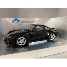 EXOTO MOTORBOX 1/18 PORSCHE 959 BLACK 1986 ART. MTB00002