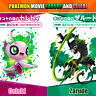 Pokemon Shiny 6iv Zarude and Celebi Movie No Serial code Region free sh