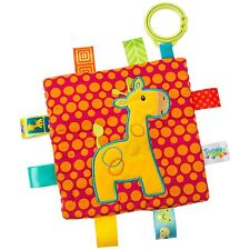 TAGGIES Crinkle Giraffe Colourful Crinkle Soother Buggy/Stroller Toy Mary Meyer
