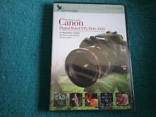 canon digital rebel xti/eos 400D a training video dvd