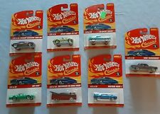 Hot Wheels Classics (Lot 7) Vintage .hard to find!