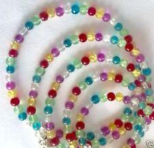 Glass Tibetan Silver Costume Bracelets