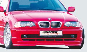 Rieger 50202 BMW E46 3series Coupe/Convertible Front Spoiler Lip - non M-Technic