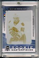 BRANDON BOLLIG 2012-13 THE CUP RC ROOKIE MASTERPIECES 1/1 SP GAME USED AUTHENTIC
