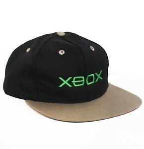 Vintage XBOX Snapback Hat Baseball Cap Gaming sony n64 y2k microsoft one NEW