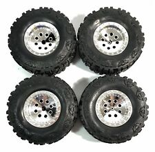Truck Jeep Crawler Nitto Mud Grappler RC Wheel / Tire Front and Back - Set of 4