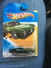 Hot Wheels 1973 Pontiac Firebird 2012 New Models Green #16